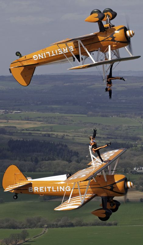 Daredevil Breitling Wingwalkers
